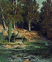 The chapel in forest, 1893, shishkin