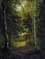 Hut in the the forest, shishkin
