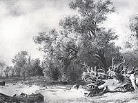 Oaks under Sestroretsk, 1857, shishkin