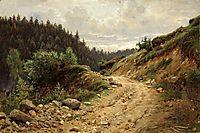 The road, 1878, shishkin
