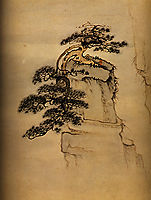 View of Mount Huang, 1707, shitao