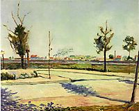 The Road to Gennevilliers, 1883, signac