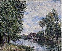 Summer in Moret, c.1881, sisley