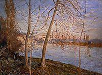 Winter Morning Veneux, 1881, sisley