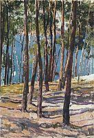 Pine Trees, 1902, sorolla