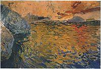 Reflections at the Cape, Javea, 1905, sorolla