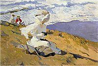 Snapshot at Biarritz, 1906, sorolla