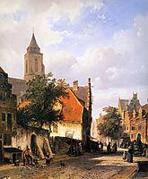 Church in Zaltbommel , springer