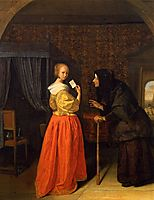 Bathsheba Receiving David s Letter, steen