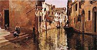 The Canal, 1887, stewart