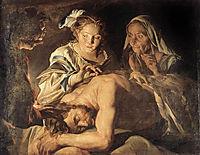 Samson and Delilah, stomer
