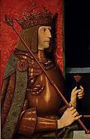 Emperor Maximilian I (1459-1519), c.1508, strigel