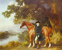 Portrait of a Huntsman, 1768, stubbs