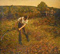 Mowing Bracken, thangue