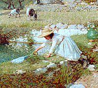 A Provençal Stream, 1903, thangue
