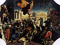 The Miracle of St Mark Freeing the Slave, 1548, tintoretto