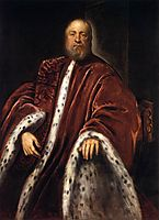 Portrait of an attorney of Saint Mark, 1570, tintoretto