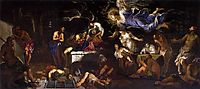 St Roch in Prison Visited by an Angel, 1567, tintoretto