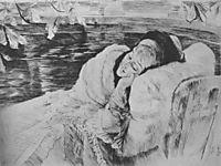 A Convalescent, 1875, tissot