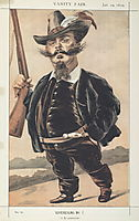 Sovereigns No.70 Caricature of M Victor Emmanuel II of Italy, tissot