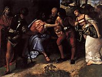 Christ and the Adulteress, 1510, titian