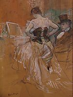 Conquest of passage, 1896, toulouselautrec