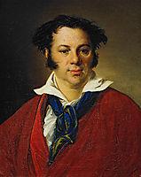 Portrait of K.G.Ravich, 1823, tropinin
