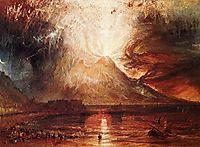 Eruption of Vesuvius, 1817, turner