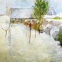 House in Snow, c.1894, twachtman