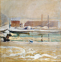 View from the Holley House, Winter, c.1901, twachtman