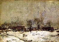 Winter Landscape, Cincinnati, twachtman