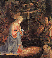 The Adoration of the Child, 1463, uccello