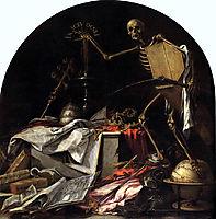 Allegory of Death: In Ictu Oculi, 1672, valdes
