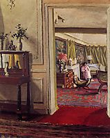 Interior with Woman in Pink, 1904, vallotton