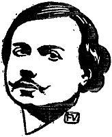 Portrait of communard Auguste Vermorel, 1897, vallotton