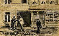 The Bakery in de Geest, 1882, vangogh
