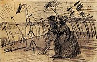 Couple Out for a Stroll, 1887, vangogh