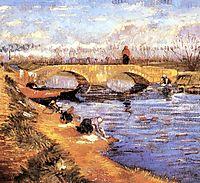 The Gleize Bridge over the Vigneyret Canal, 1888, vangogh