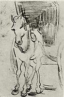 Horse and Carriage, 1890, vangogh