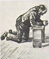 Man Praying, 1883, vangogh