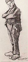 Man, Standing with Arms Folded, 1882, vangogh