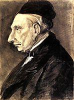 Portrait of Vincent van Gogh, the Artist s Grandfather, 1881, vangogh