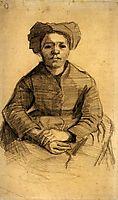 Seated Woman , 1885, vangogh