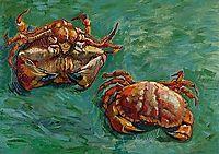 Two Crabs, 1889, vangogh