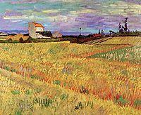 Wheat Field, 1888, vangogh