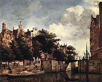 The Martelaarsgracht in Amsterdam, c.1670, veldeadriaen