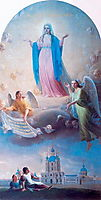 Prayer to Our Lady Mother for the pupils Smolny, venetsianov