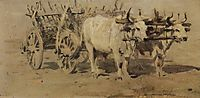 Cart for the Wounded, 1877, vereshchagin