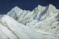 In India. Himalayas snow, 1876, vereshchagin