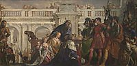 The Family of Darius before Alexander, veronese